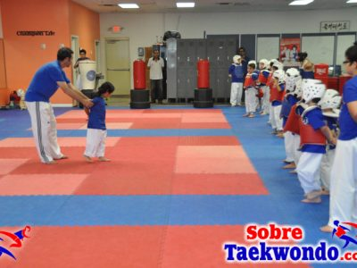 La sesión de entrenamiento de Taekwondo_853