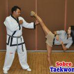 La estandarización de la técnica básica de Taekwondo.