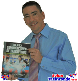 Libro de Combinaciones tecnicas de Taekwondo por Alain Alvarez