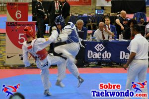 Mejor Taekwondo en el Campeonato Abierto de Estados Unidos