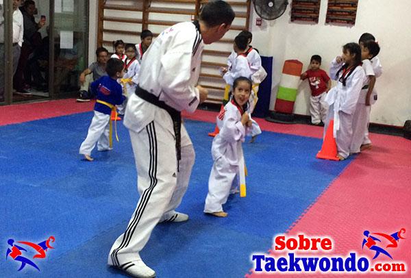 El curso y seminario de taekwondo en la ciudad de Trujillo.