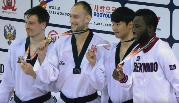 Grand Prix Mundial de Taekwondo M - 80kg.