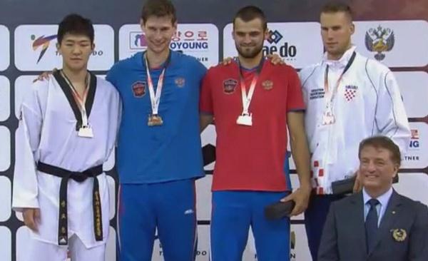 Resultados del Grand Prix Mundial de Taekwondo en la división de M + 80kg.