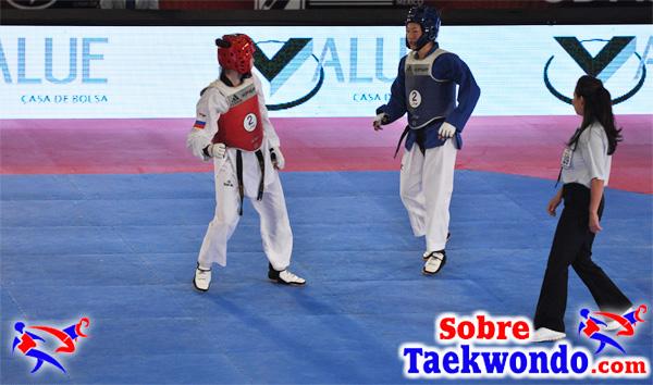 Acciones de Maniobras en Taekwondo