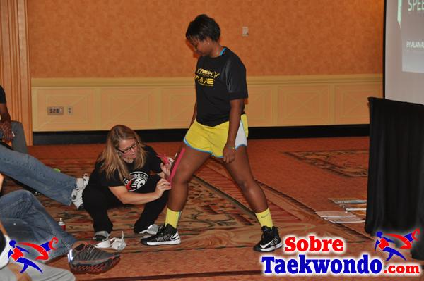 Trish Bare Taekwondo