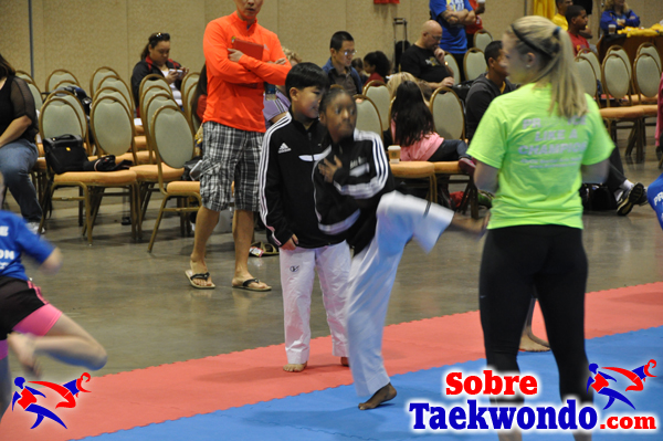 USA Taekwondo campamento