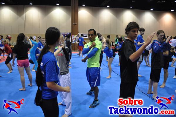 USA Taekwondo habilidades y entrenamiento