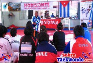 dirección de equipo en el taekwondo