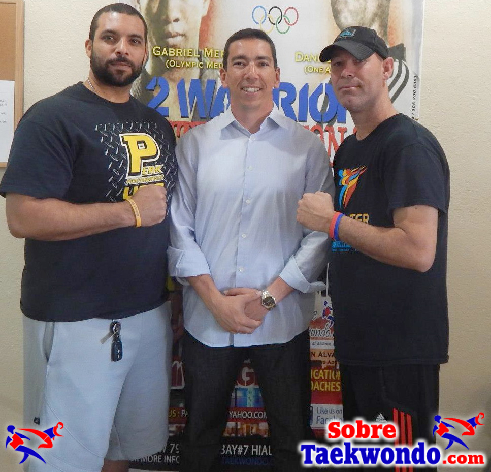 Russell Beneby, Alain Alvarez, Daniel Espinoza