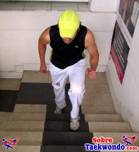 fEjercicio en escaleras