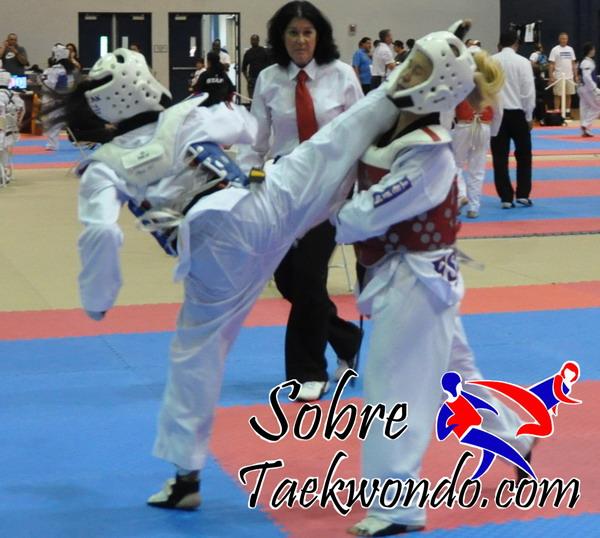 patadas a la cara taekwondo