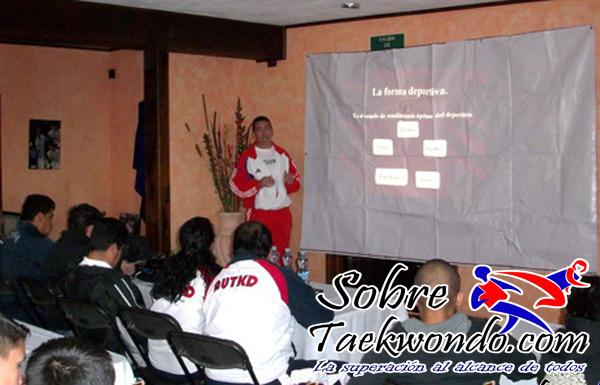 seminario de taekwondo alain alvarez
