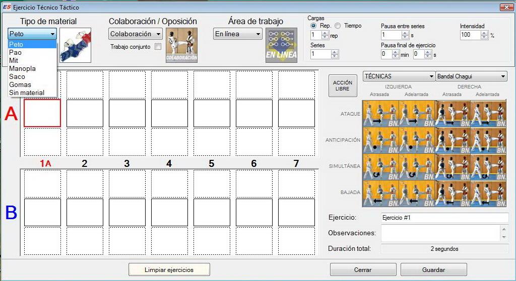 tactica software taekwondo