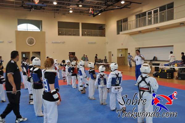 Taekwondo para la cabeza o los pies