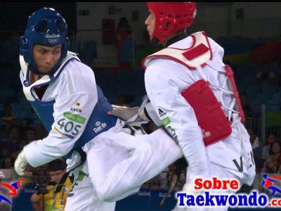 Combinaciones tecnicas de Taekwondo