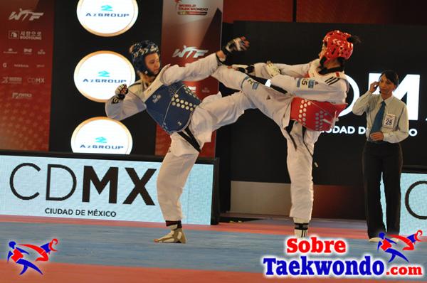 monótonos combates de taekwondo