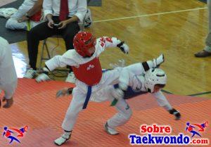 El torneo clasificatorio para el campeonato nacional de Taekwondo AAU