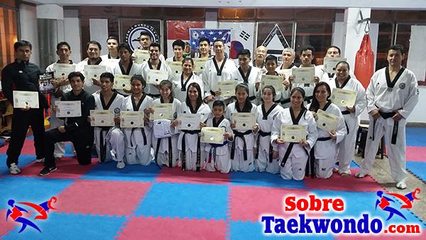Cursos y seminarios de taekwondo en Peru