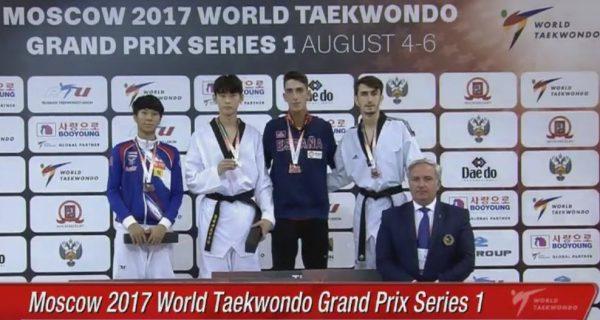 Resultados del Grand Prix Mundial de Taekwondo en la división de M-58kg.