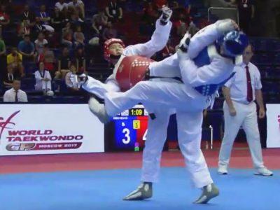 Grand Prix Mundial de Taekwondo WTF Moscú, Rusia 2017