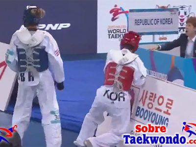 Campeonato Mundial de Taekwondo WTF de Muju, Corea 2017.