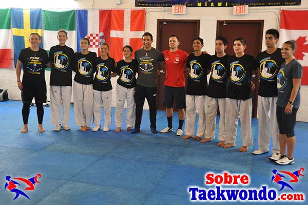 Juan Moreno Chile y Peak Taekwondo Miami.