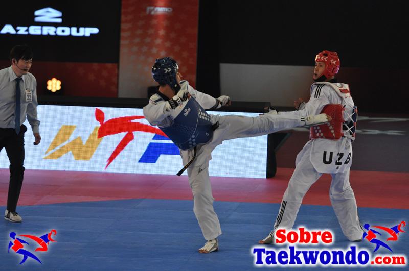 Técnicas de Taekwondo Yop chagui