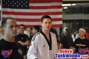 Aaron Cook Campamento de Taekwondo 2013